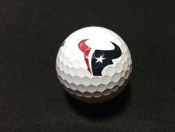 NFL HOUSTON TEXANS LOGO GOLF BALL / BRIDGESTONE