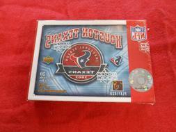 2002 UPPER DECK HOUSTON TEXANS 20 CARD INAUGURAL YEAR 20 CAR