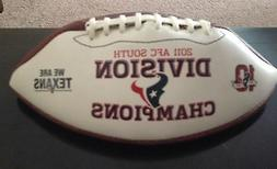 2011 HOUSTON TEXANS AFC SOUTH DIVISION FOOTBALL NEW IN DISPL