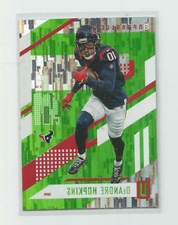 2017 Unparalleled  DEANDRE HOPKINS   Lime Green Wind Chimes