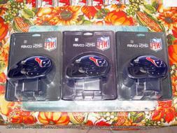 3 NEW HOUSTON TEXANS NFL TEAM HELMET TRAILER HITCH COVERS  H