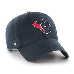 `47 Houston Texans NFL Clean Up Strapback Baseball Cap Dad H