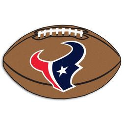 "Fanmats 5734 NFL Houston Texans Football Rug 22""x35"""