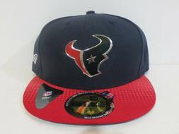 New Era 59Fifty Cap Mens NFL Team Houston Texans Red Blue 2