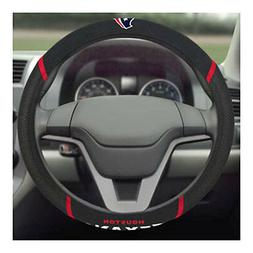 Brand New NFL Houston Texans Black Mesh Extra Grip Steering
