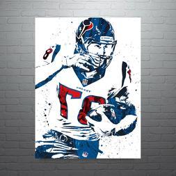 CJ Fiedorowicz Houston Texans Poster FREE US SHIPPING