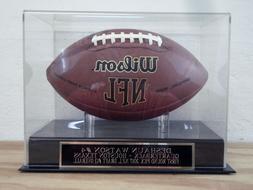 Deshaun Watson Football Display Case With A Houston Texans E