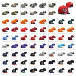 Embroidered NFL All Team Logo Snapback Sun Caps Adjustable F