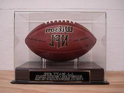 J.J. Watt Football Display Case W/ A Houston Texans Engraved