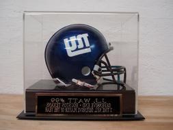 J.J. Watt Football Mini Helmet Display Case W/ A Houston Tex