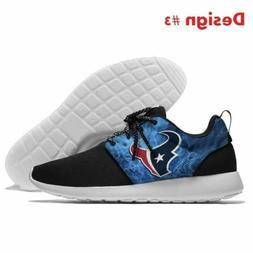 Hot !! 2019 HOUSTON TEXANS Logo Men's Women's Running Shoes