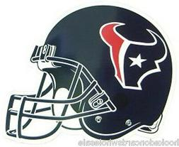 "Houston Texans 12"" Car Auto Truck SUV Color Helmet Magnet"