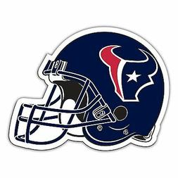 "Houston Texans 12"" Die Cut Helmet Car Magnet"