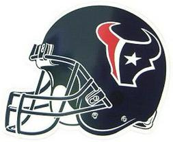 "Houston Texans 12"" Helmet Car Magnet  NFL Vinyl Auto Emblem"