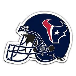 """Houston Texans 12"""" Helmet Car Magnet"""