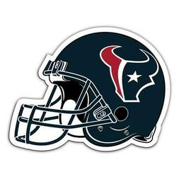 Houston Texans 12 Inch Helmet Vinyl Car Magnet  NFL Auto Emb