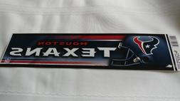 Houston Texans #2 Bumper Sticker