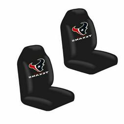 Houston Texans 2 Front Universal Fit Car Truck Bucket Seat C