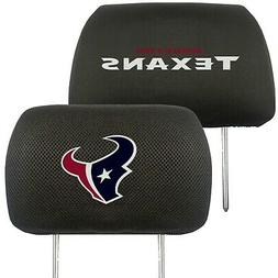 Houston Texans 2-Pack Auto Car Truck Embroidered Headrest Co