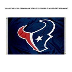 houston texans 2x3 foot banner