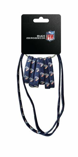 Houston Texans 8 Pack Ponytail & Headband Set - NFL Clip Pie