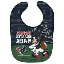 Houston Texans Baby Bib Disney Mickey Mouse Feeding Infant N