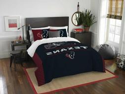 Houston Texans Comforter Set Twin 2pc NFL Team Logo Licensed