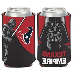 Houston Texans Darth Vader Can Cooler 12 oz. Star Wars Koozi