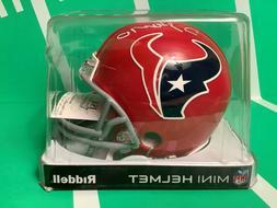 Houston Texans DeAndre Hopkins Signed Riddell Mini Helmet w