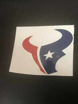houston texans decal sticker for rambler tumbler