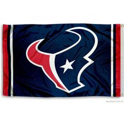 HOUSTON TEXANS FLAG 3'X5' NFL TEAM LOGO BANNER: FREE SHIPPIN