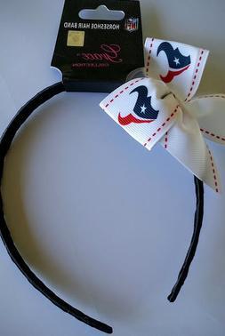 Houston Texans Football NFL Grace Collection Bow Headband