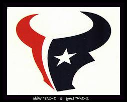HOUSTON TEXANS FOOTBALL NFL TEAM LOGO DESIGN DECAL STICKER~B
