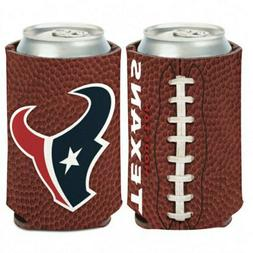 Houston Texans Football Style Can Cooler Keeps Cans and Bott