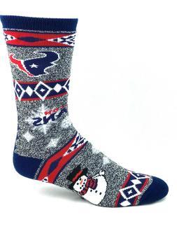 Houston Texans NFL Football Ugly Christmas Sweater Snowman C