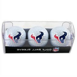 Houston Texans Golf Balls 3 Pack