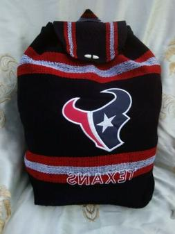 Houston TEXANS Handmade Backpack Mochila Aztec Tote Bag