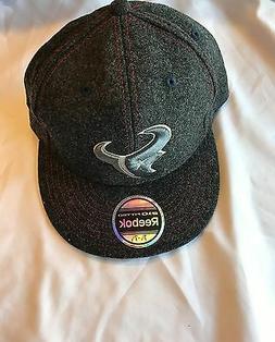 Houston Texans hat Reebok Grey Cap Men Size 7 1/4 - 7 5/8 NW