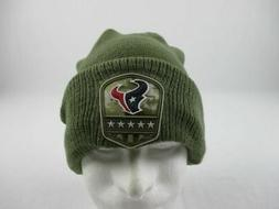 Houston Texans New Era Hat Men's Green Winter Hat NEW OSFM