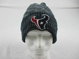 Houston Texans New Era Hat Men's Navy/Gray Winter Hat New Si