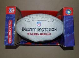 Houston Texans Inaugural Season Commemortive Limited Edition