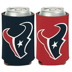 Houston Texans Logo Can Cooler 12oz Collapsible Koozie - Two