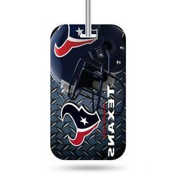 Houston Texans Luggage ID Tag  NFL Travel Bag Duffel Plane