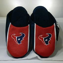 Houston Texans Men's Jersey Mesh SLIDE SLIPPERS Size 7-8 T3