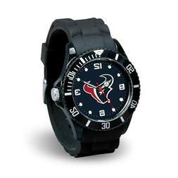 Houston Texans Men's Sports Watch Spirit Design  NFL Jewelry