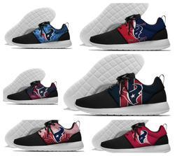 HOUSTON TEXANS Men's women's Lightweight Sneaker Shoes NFL 2