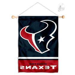 houston texans mini window banner hanging