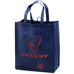 Houston Texans Navy Blue Reusable Tote Bag