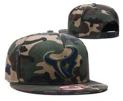 Houston Texans NFL Camo on Canvas 9FIFTY New Era Snapback Ca