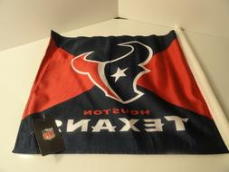 HOUSTON TEXANS NFL CAR FLAG Double Sided
